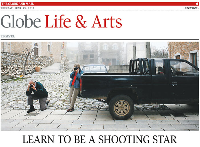 Greece Photo Workshops on The Globe and Mail