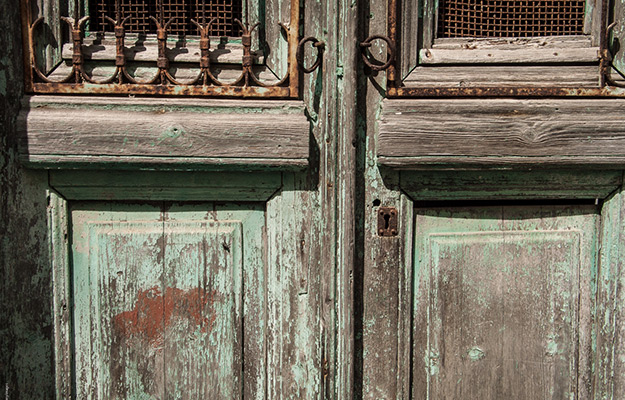Door, Tinos island, Greece